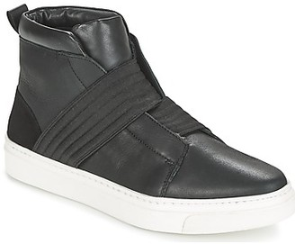 Maruti CHARLIE women's Shoes (High-top Trainers) in Black
