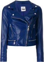 Twin-Set classic biker jacket