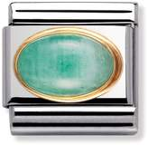 Nomination 18ct Gold & Emerald May Birthstone Classic Charm 030504/09