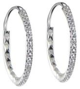 Roberto Coin 18K White Gold & 0.22ct Diamond Earrings