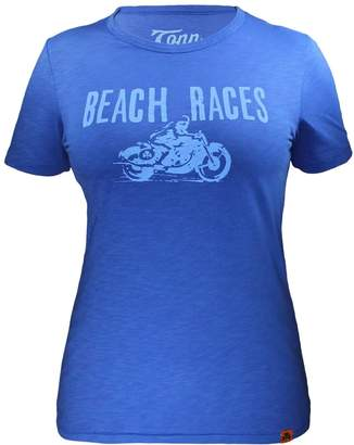 Tonn Beach Races Tee Blue - Standard Fit