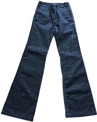 Joseph Black Cotton Jeans