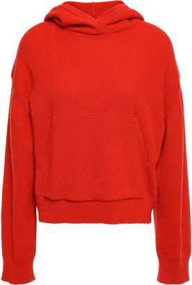 Nanushka Ribbed-knit Hooded Sweater