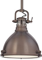 Hudson Valley Lighting Pelham 1 Light Mini Pendant Finish: Historic Bronze, Size: 8""