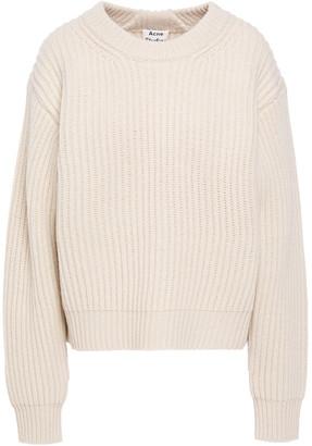 Acne Studios Kassie Ribbed Wool Sweater