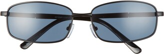 BP 50mm Rectangle Wire Sunglasses