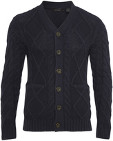 Oxford Alistair Cardigan Nvy X