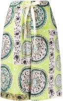 J.W.Anderson Venetian print shorts