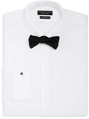 Bloomingdale's The Men's Store at Regular Fit Tuxedo Shirt with Removable Stud
