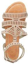 Charlotte Russe Laser Cut Gladiator Sandals