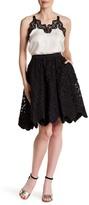Zac Posen Dani Pleated Skirt