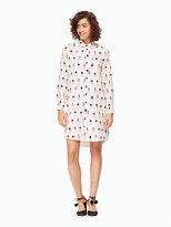 Kate Spade Nail polish shirtdress