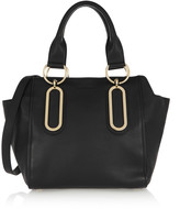 See by Chloe Paige medium textured-leather shoulder bag