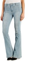 Paige Petite Women's 'Bell Canyon' High Rise Flare Jeans