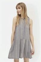 French Connection Serge Stripe Shirt Dress