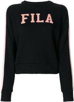 Fila logo embroidered sweatshirt