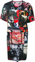 Kenzo printed T-shirt dress - women - Cotton - S