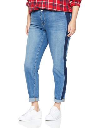 Junarose Women's Jrfive Jani Mb Jeans-K Slim Medium Blue Denim 38W / 48L
