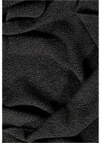 Jil Sander Cashmere Blend Boucle Scarf in Black