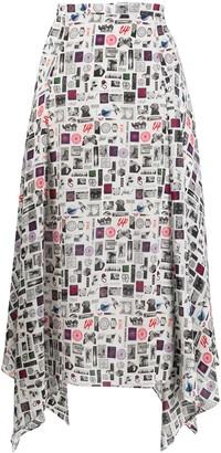 Paul Smith Stamp Print Skirt