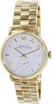 Marc by Marc Jacobs Women's Baker MBM3243 Gold Stainless-Steel Swiss Quartz Watch