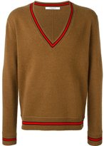 Givenchy contrast trim sweater