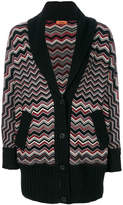 Missoni patterned shawl cardigan
