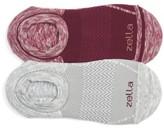 Zella Women's 2-Pack Cushioned Low-Cut Running Socks