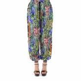 Gucci Motif Print Harem Trousers