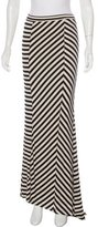 Torn By Ronny Kobo Striped Maxi Skirt w/ Tags
