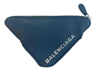Balenciaga Navy Leather Purses, wallets & cases