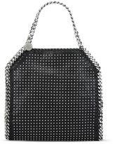 Stella McCartney black falabella studded mini tote