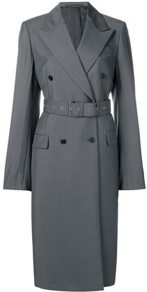 Prada double-breasted belted coat