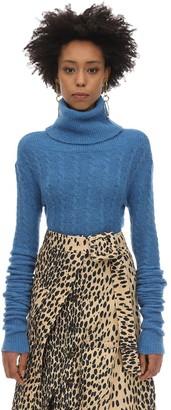 Jacquemus Alpaca Blend Cable Knit Sweater