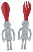 Fred & Friends Yumbots 2-Pack Fork and Spoon