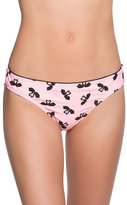 Betsey Johnson Swooning Swans Hipster Bottom