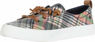 Sperry Women's Crest Vibe Washed Plaid Sneaker