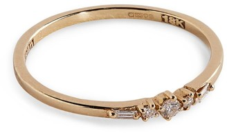 Suzanne Kalan Yellow Gold and Diamond Playful Ring