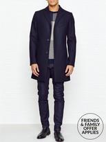 J. Lindeberg WolgerCompact Melton Wool Overcoat