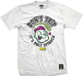 DGK Men's x Popeye Spinach Trip T Shirt White XL