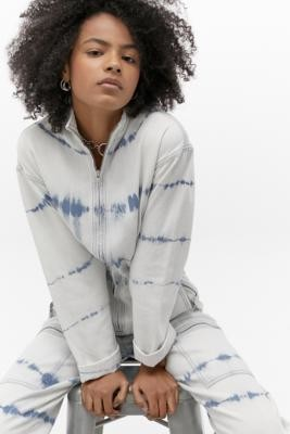 BDG Tie-Dye Boilersuit - White XS at Urban Outfitters
