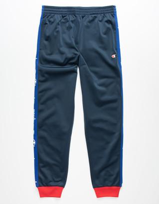 Champion Logo Tape Boys Track Pants