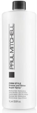 Paul Mitchell Freeze & Shine Super Spray, 33.8-oz, from Purebeauty Salon & Spa