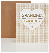Marks and Spencer Fabulous Grandma Card