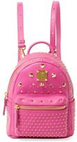 MCM Zip & Studded Backpack
