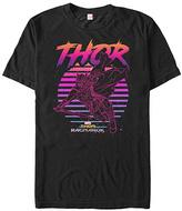 Fifth Sun Thor Ragnarok Black 80s Thor Tee - Men & Big