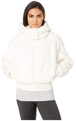 Alo Foxy Sherpa Jacket (Pristine) Women's Coat