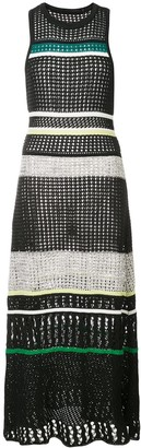 Proenza Schouler Striped Knit Dress