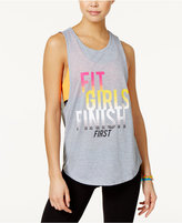 Energie Active Juniors' Layered-Look Graphic Tank Top