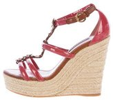 Louis Vuitton Espadrille Wedge Sandals